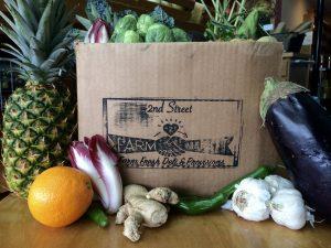 Produce Box Pick-up @ 2nd Street Farm to Market Deli